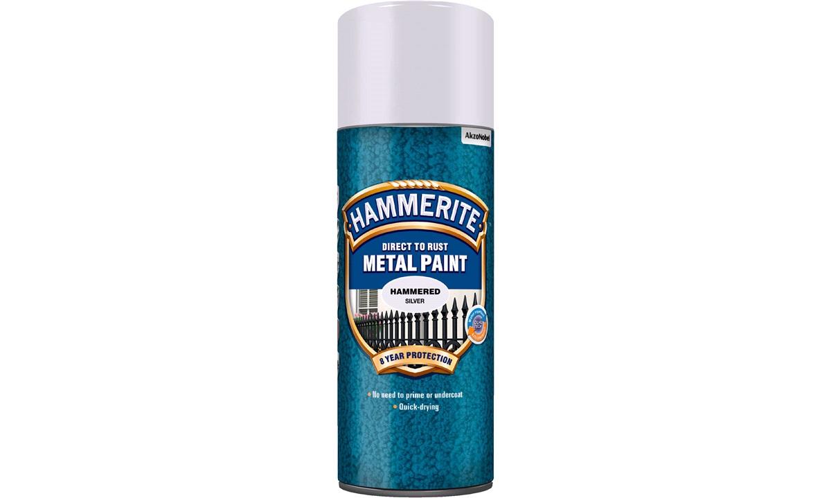 Hammerite Silver spray Hammered Silver