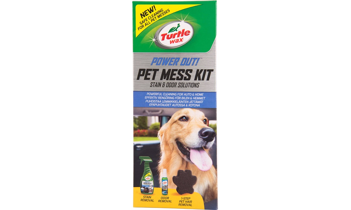 Turtle Wax Power Out Pet Mess Kit - lugtfjerner