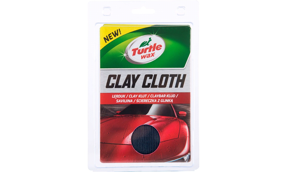 Turtle Wax Clay Cloth - Lerklud