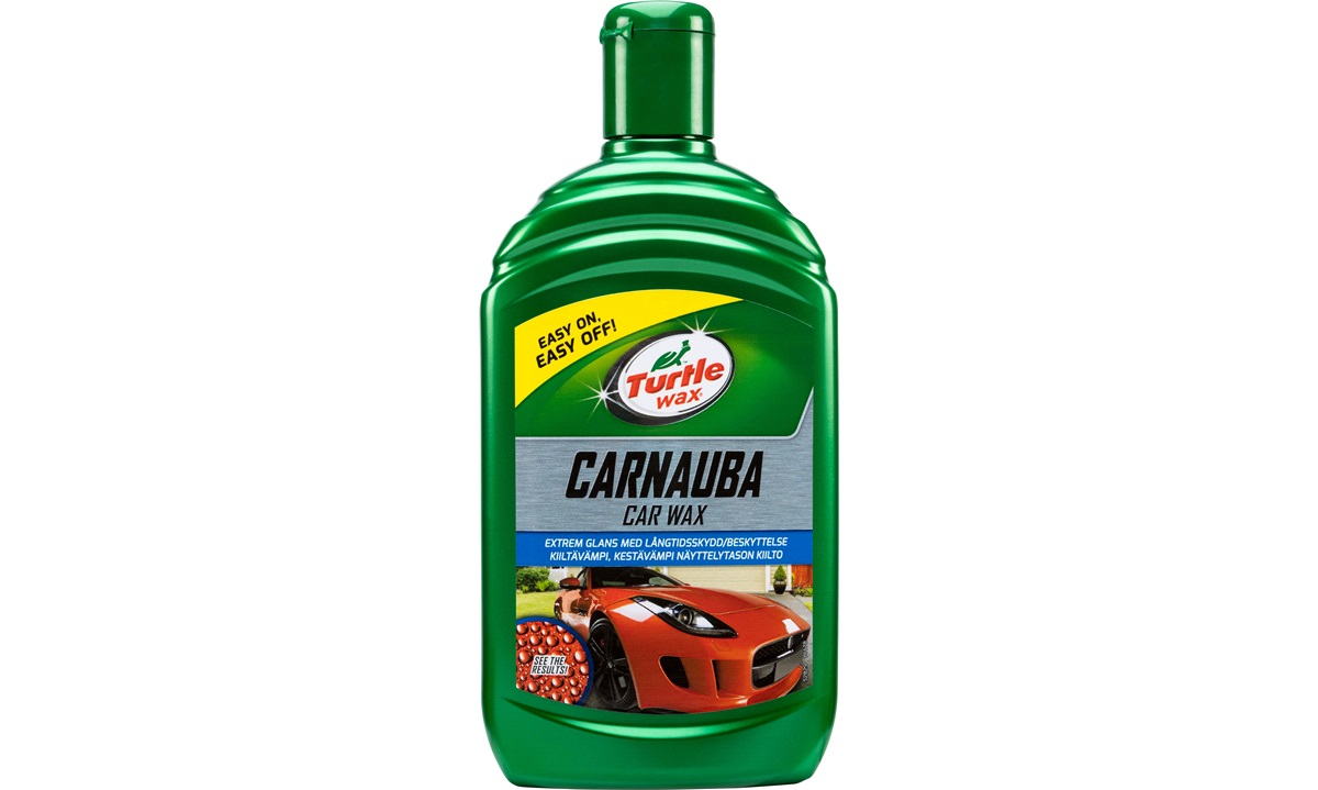 Turtle Wax New! Carnauba Car Wax 500ml