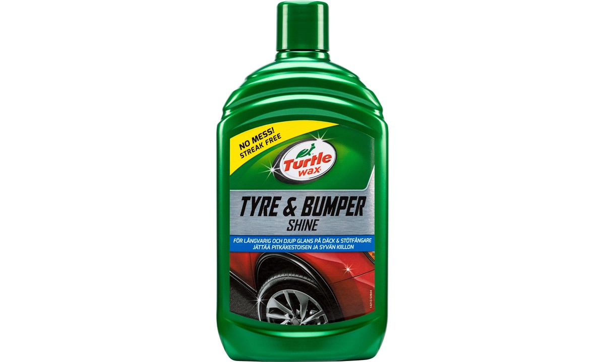 Turtle Wax Tyre and Bumper shine