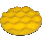 Polérrondell gul Vafflet