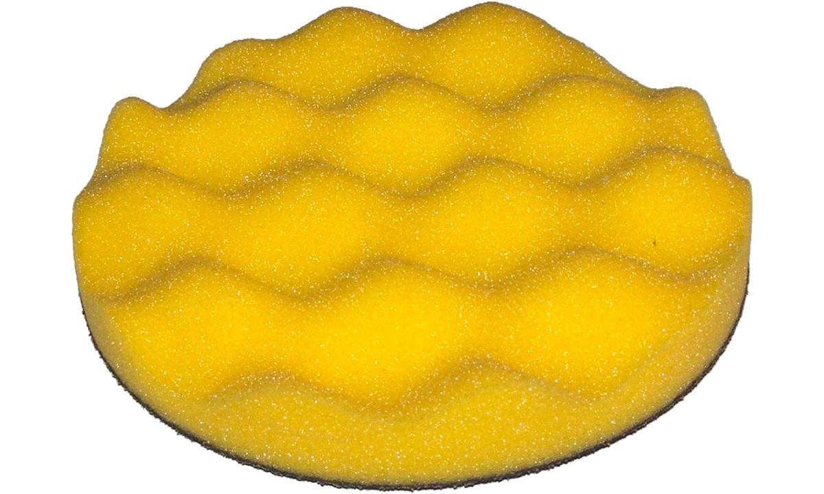 Polérrondel Gul vaflet 1 stk. 25mmx130mm