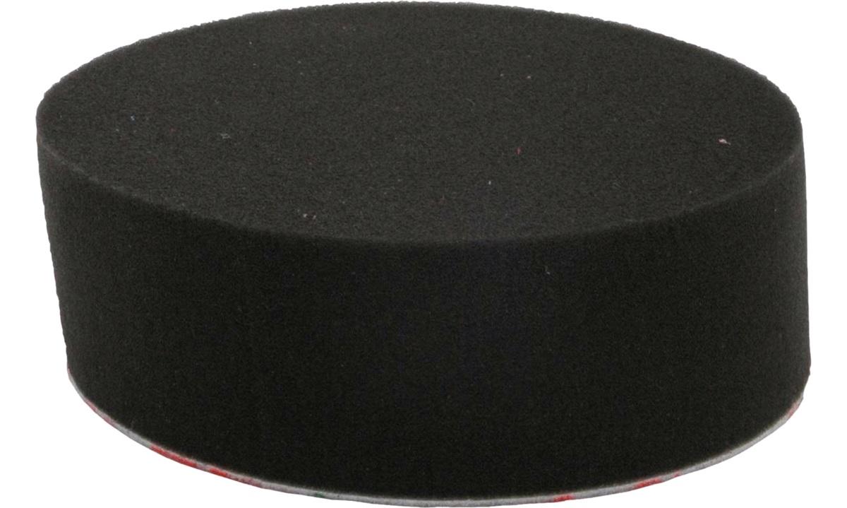 Polérrondel sort blød 1 stk. 25mmx130mm