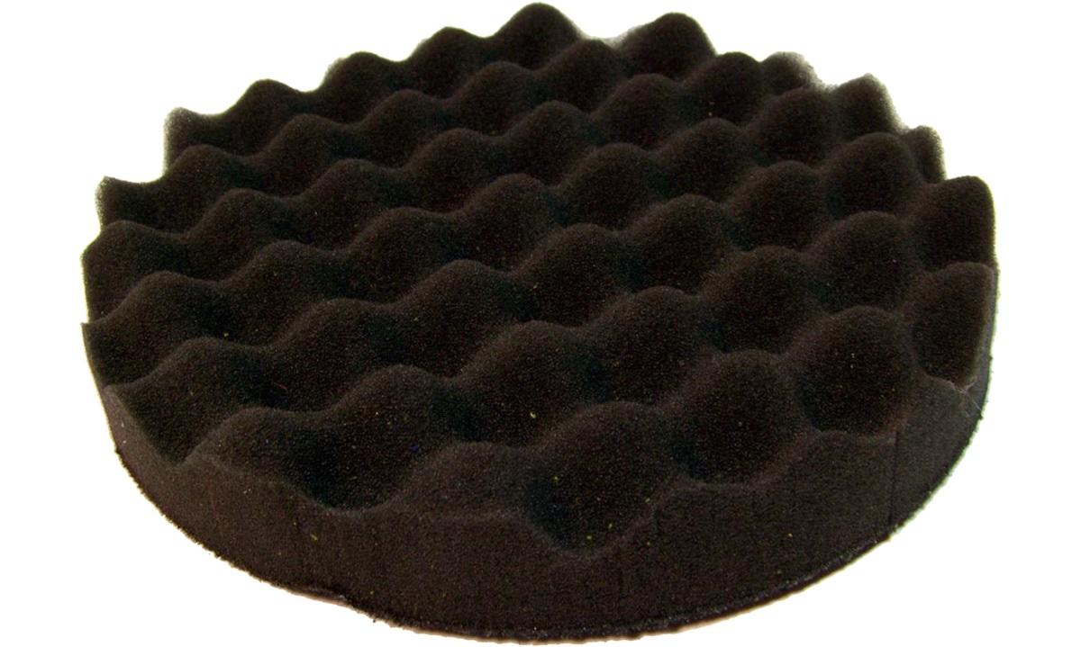 Polérrondel sort vaflet 1stk. 25mmx130mm