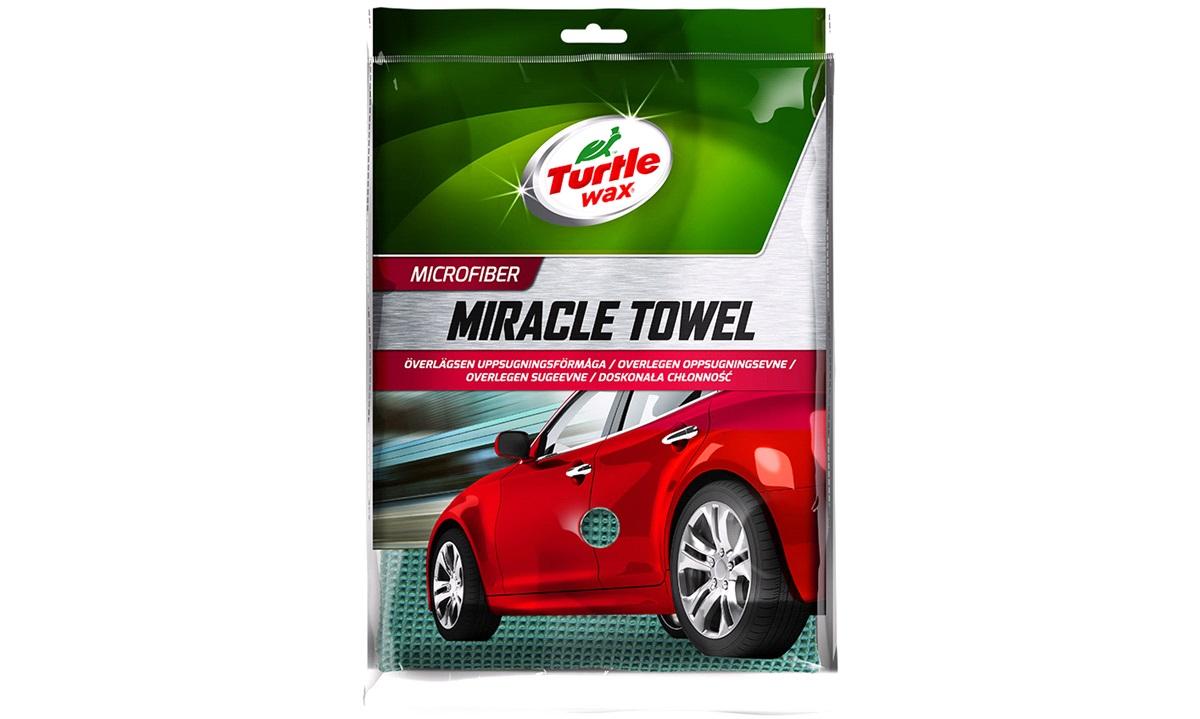 Turtle Miracle Towel Mikrofiberhåndkle