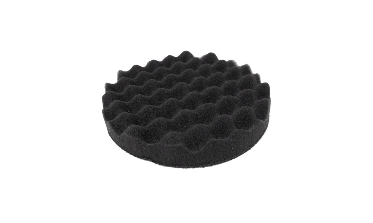 Polérrondel Sort vaflet 1 stk. 25*160mm