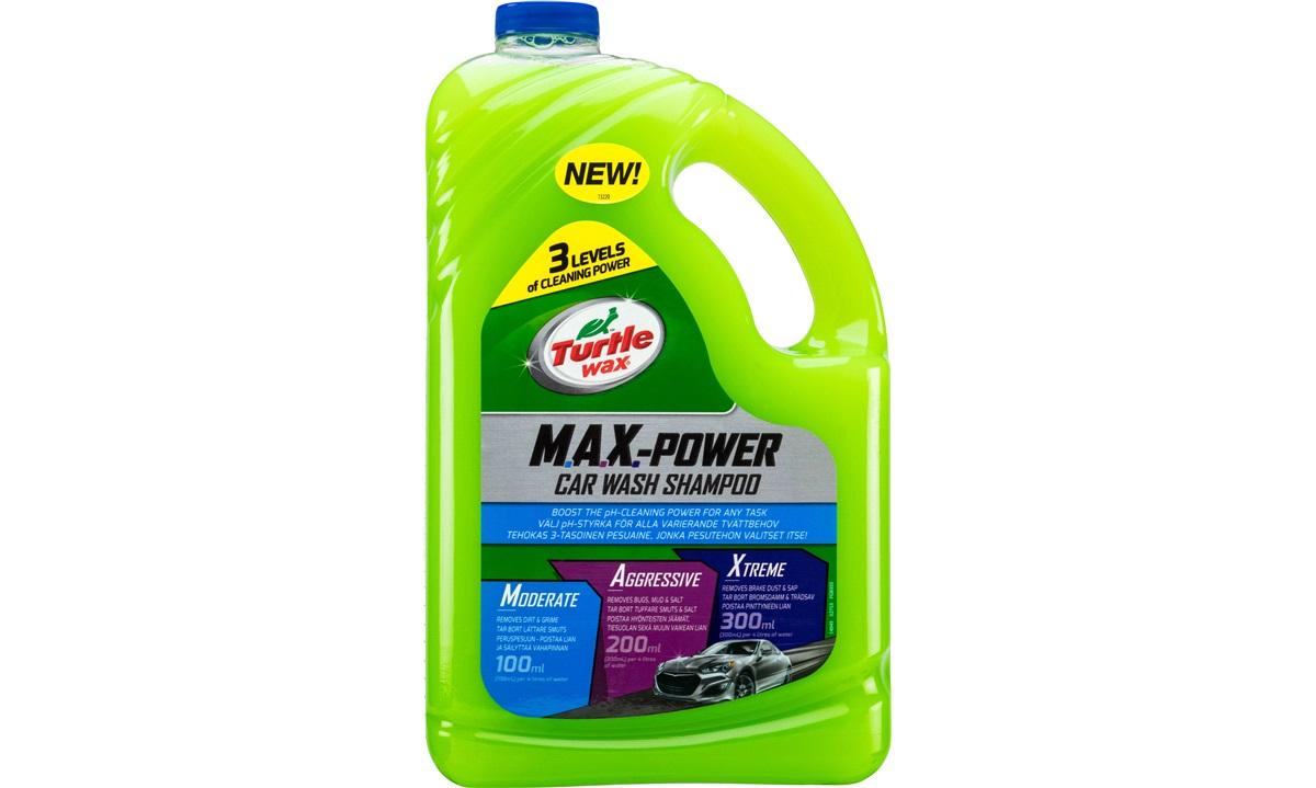 Turtle Wax Max Power Shampoo 2,95 liter