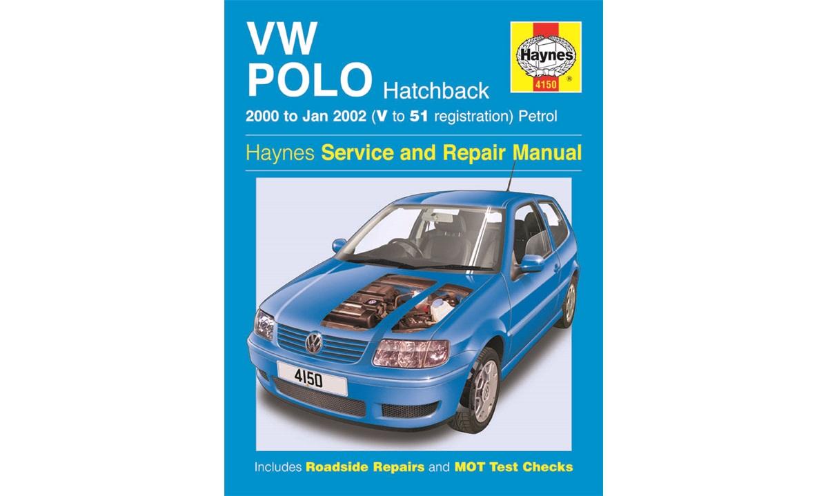 Reparationshåndbog Polo 1,0+1,4+16V 10/99-9/01