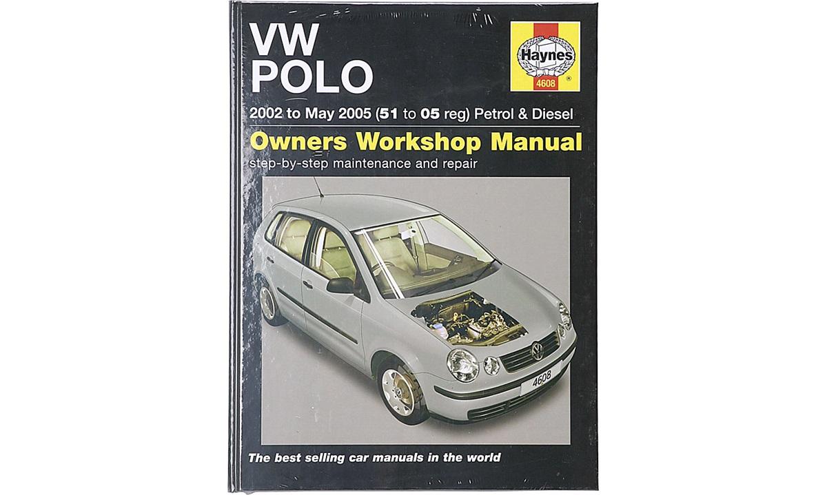 Reparasjonshåndbok Polo 1,2-1,9TDi 10/01-6/05