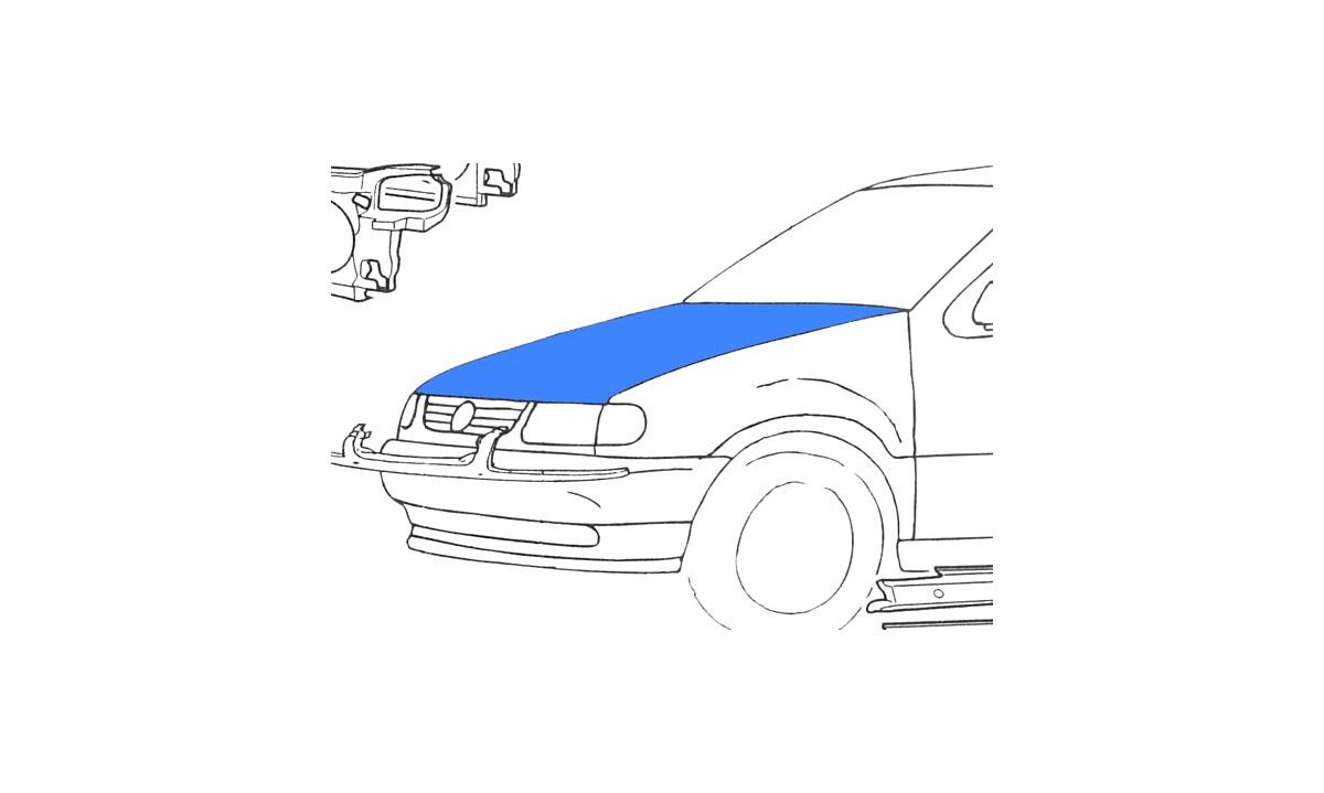 Motorhjelm - (Klokkerholm)