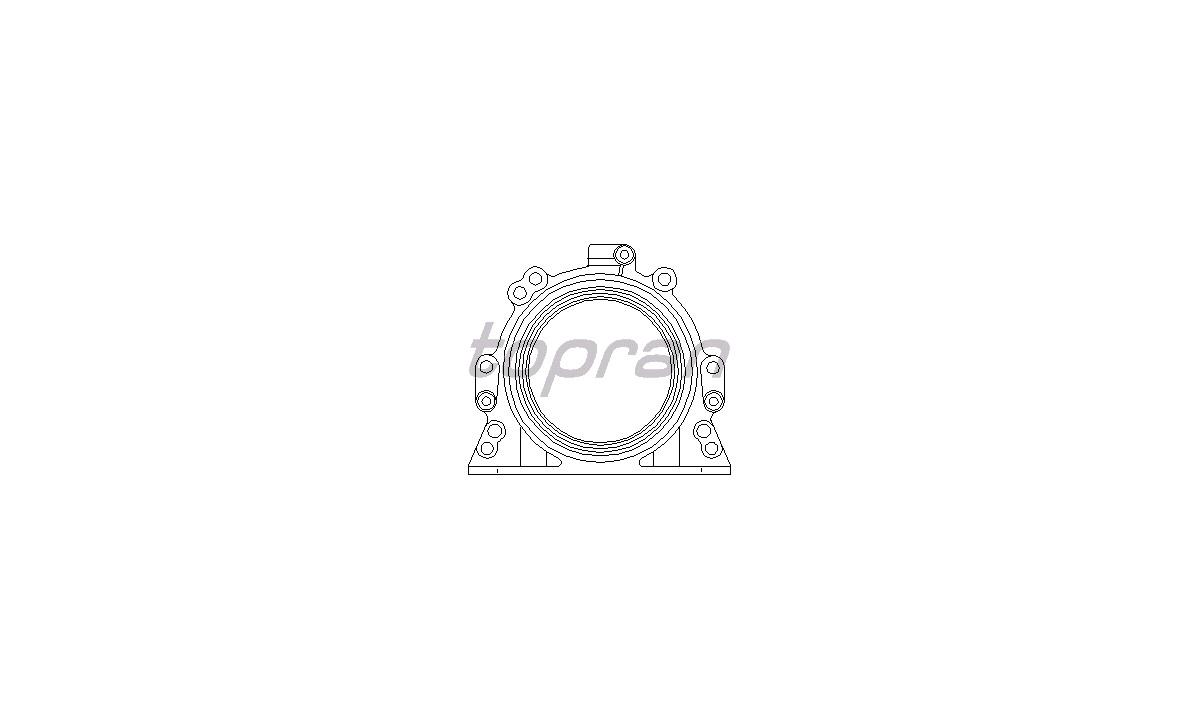 Pakdåse, krumtapaksel 06A103171G (VIKA)