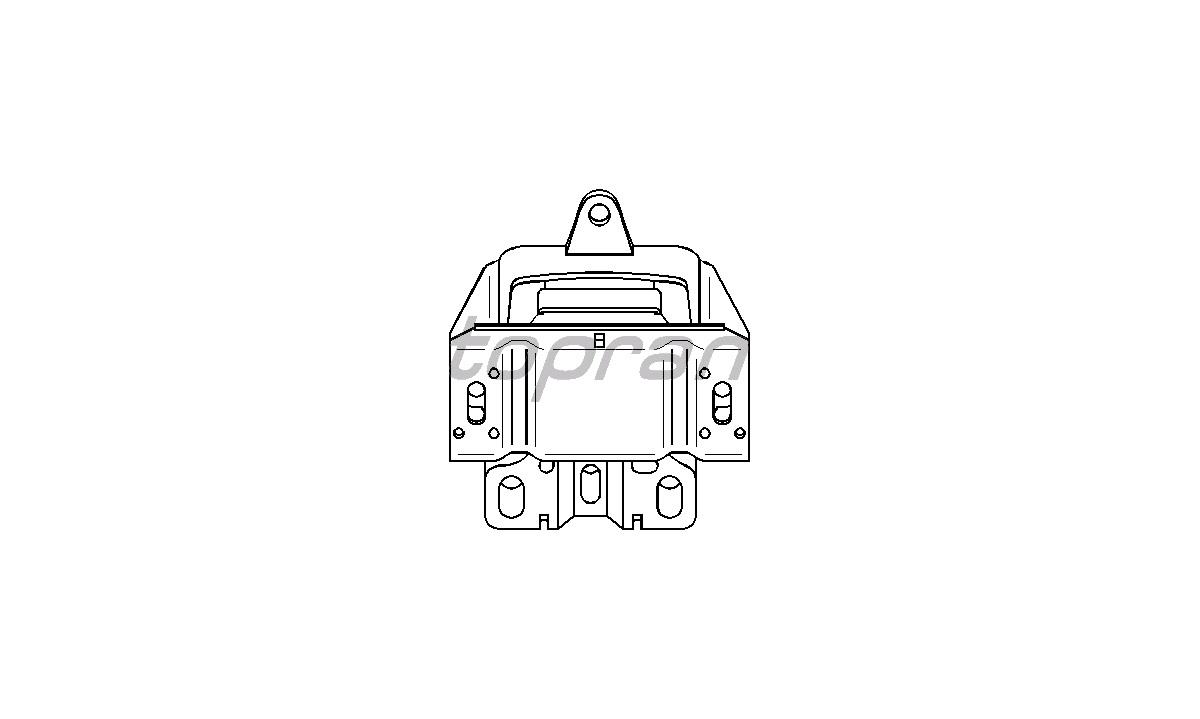 Motorophæng - (Topran)