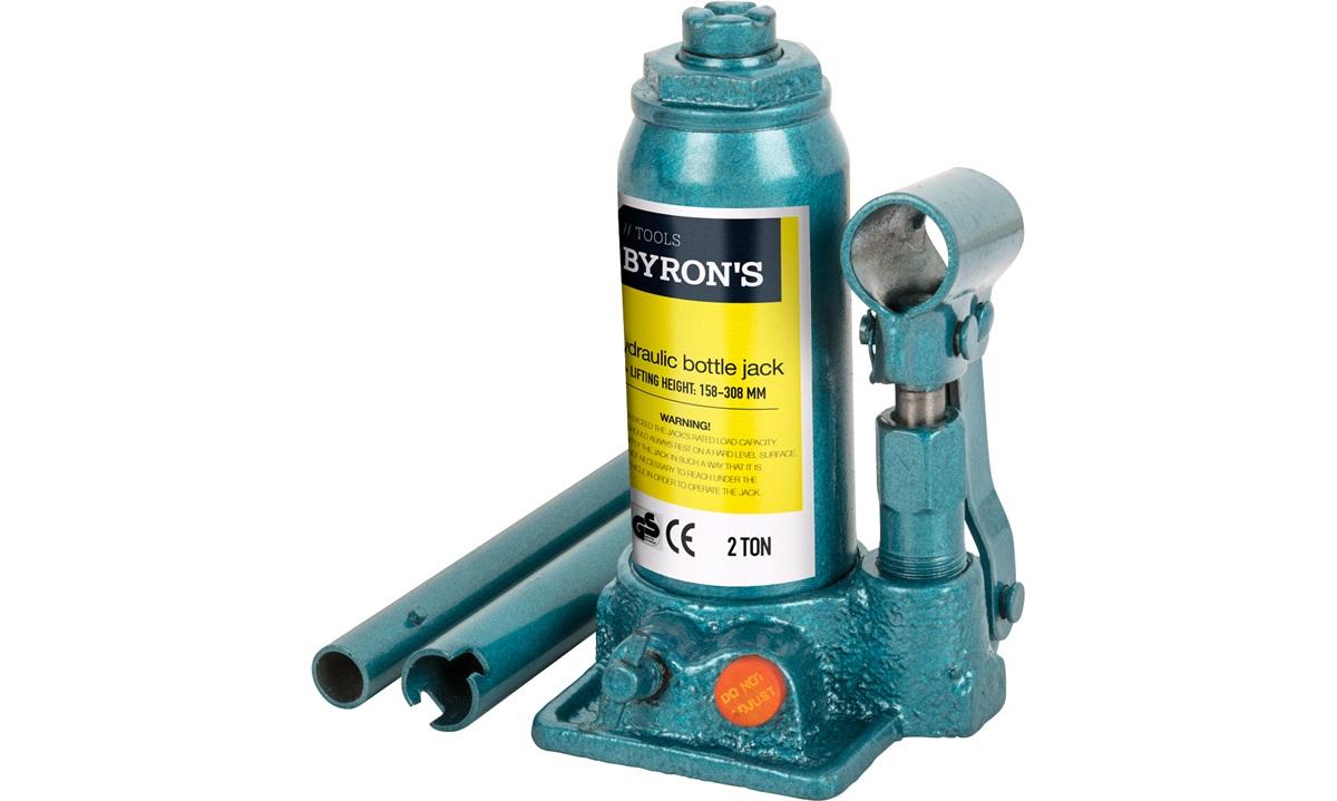 Hydraulisk flaskedonkraft 2 T