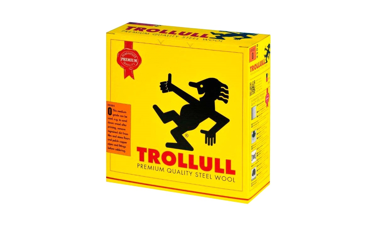TROLLULL Ståluld 450 g Grade 1