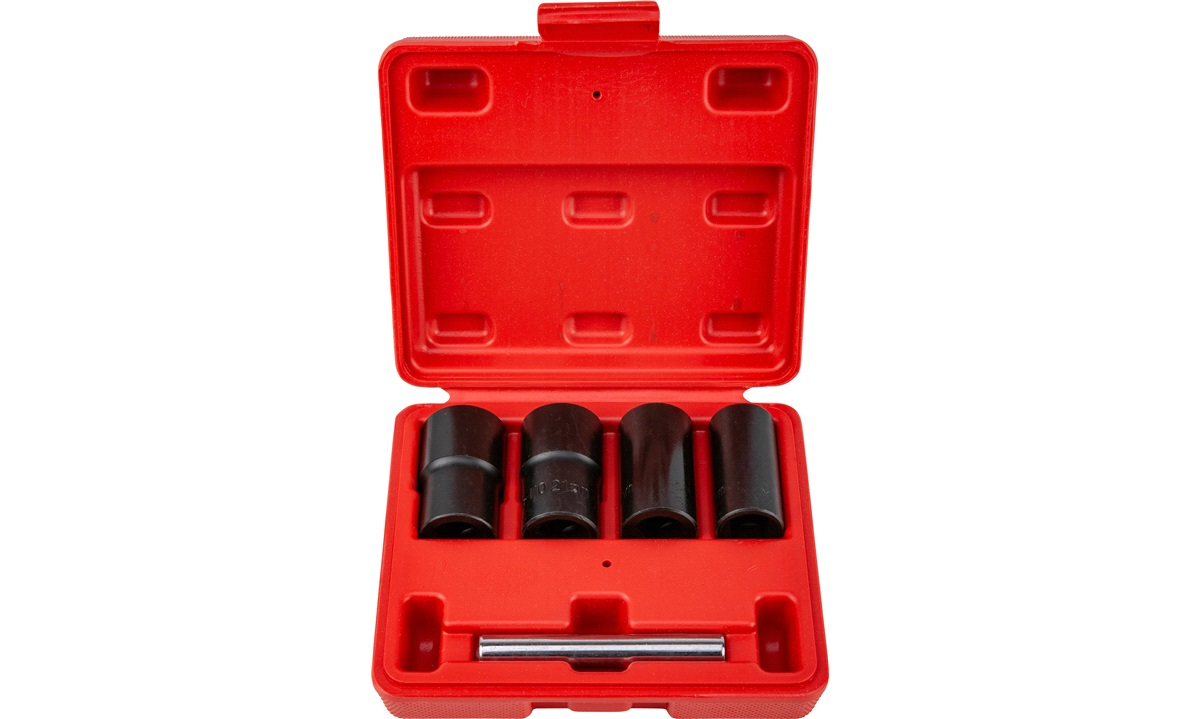 Aftrækkersæt hjulbolte / låsebolte 4 stk