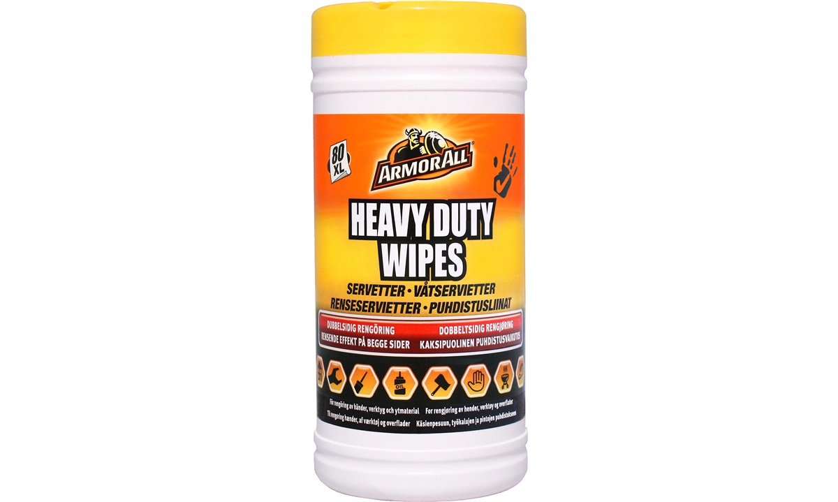 Armor All Heavy Duty All Purpose wipes