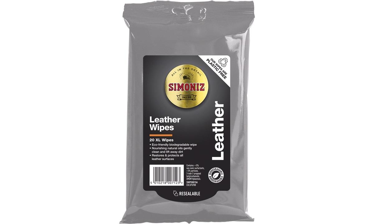 Simoniz Leather Wipes 20 stk.
