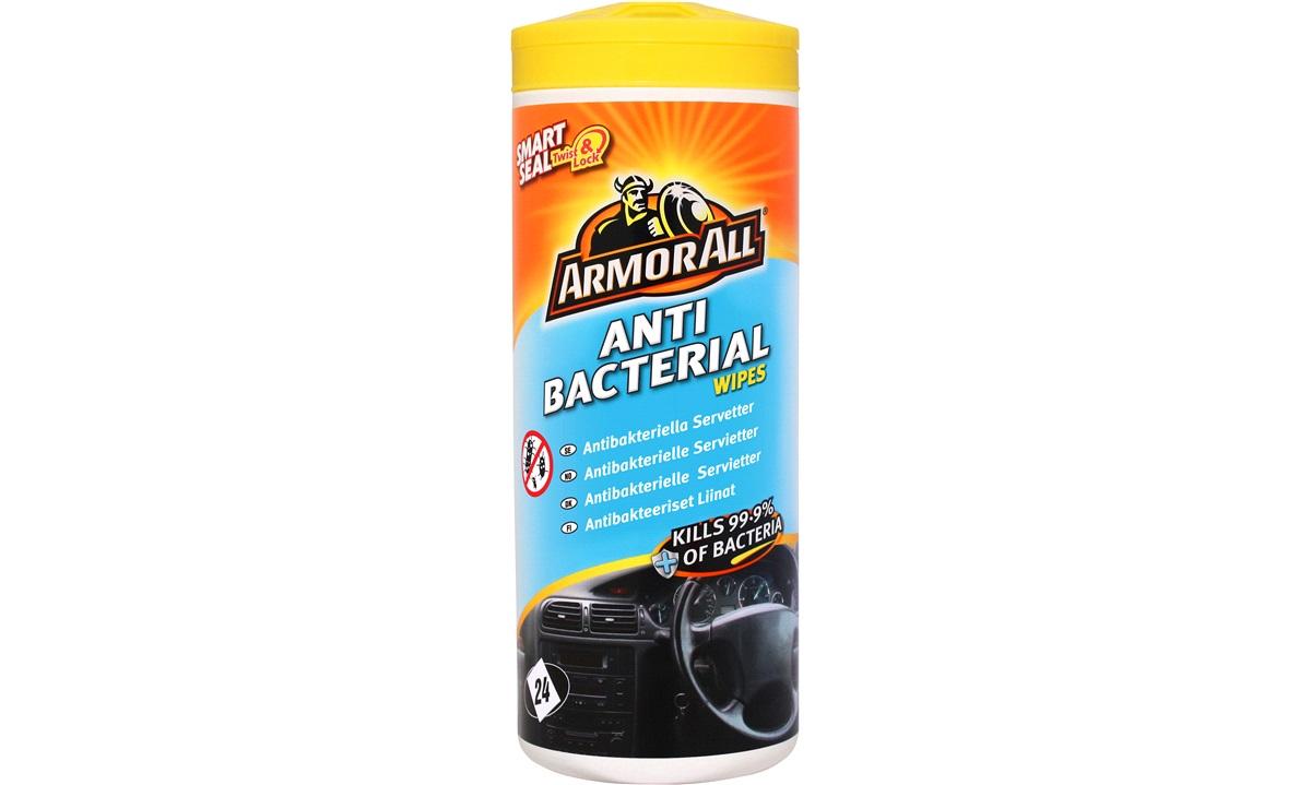 Anti bacteriel Desinficere wipes 24 stk.