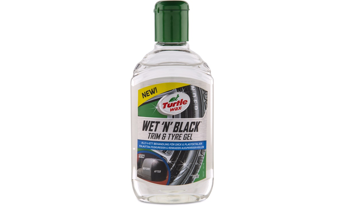 Turtle Wax Wet n`Black Trim & Tyre Gel