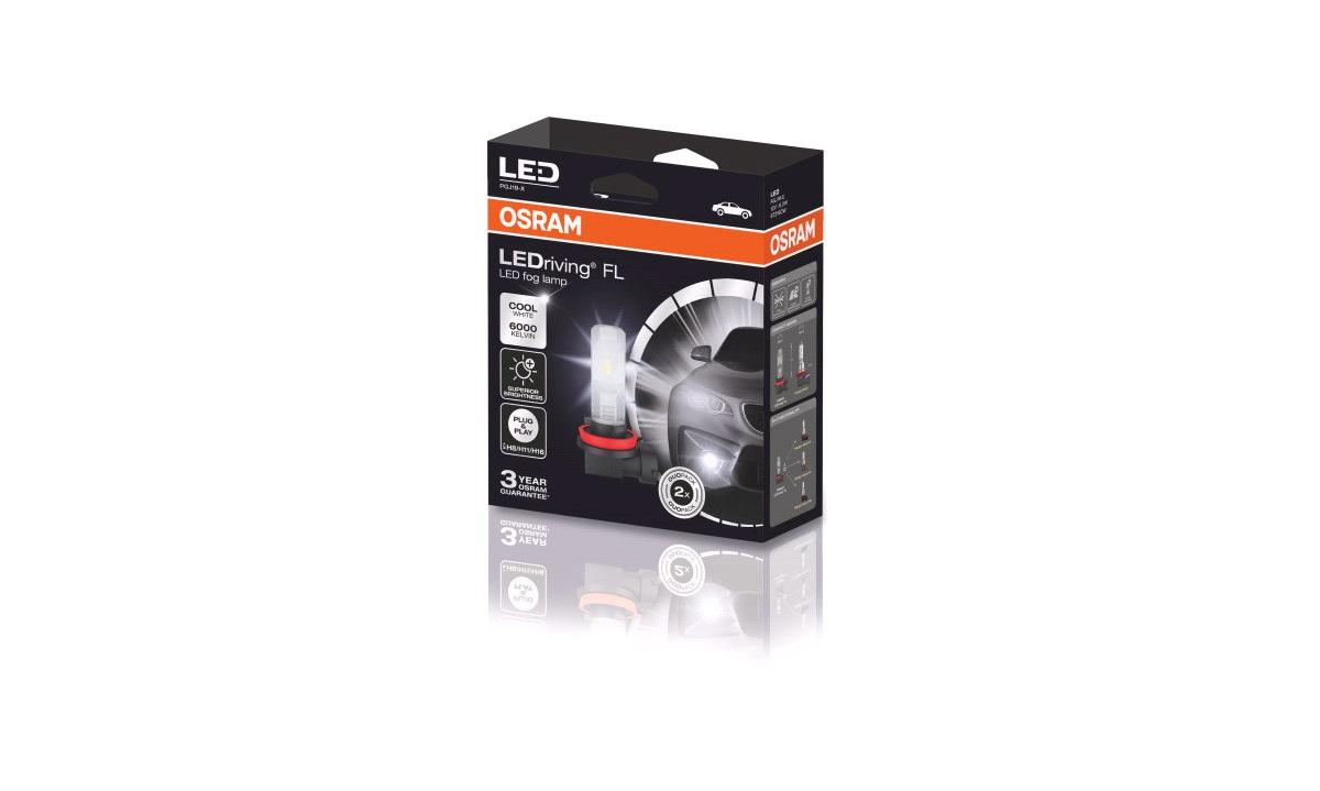 Pæresæt LED H8/H11/H16 LEDriving FL FOGLAMP