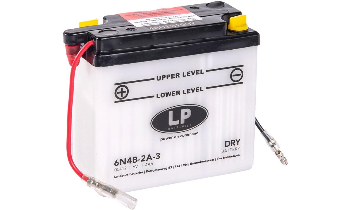 Batteri 6V-2Ah, Monza/GP