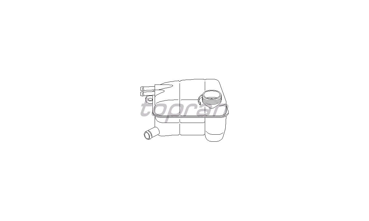 Beholder, kølevæske - (Topran)
