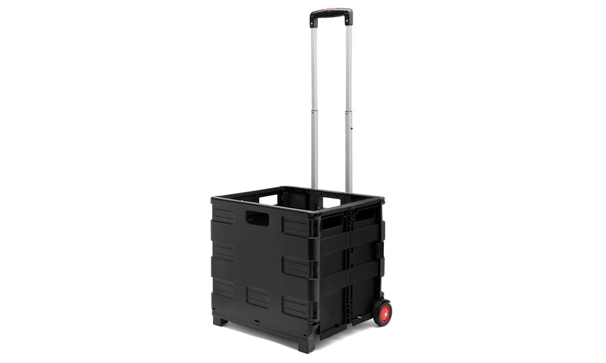 Boks Trolley med foldekasse 35 kg.
