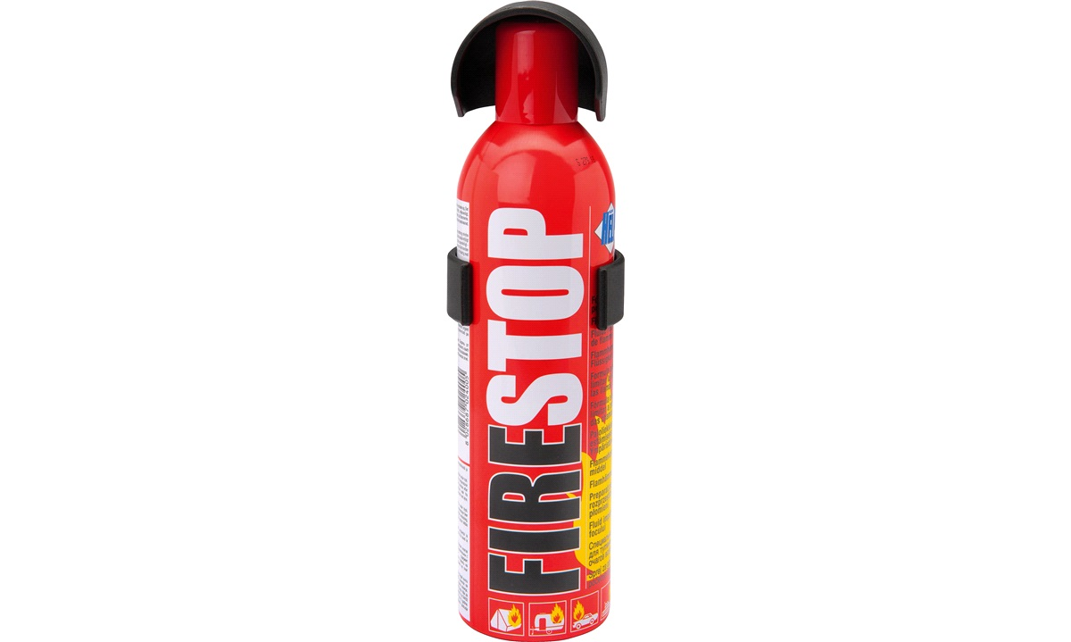 Firestop 400 ml. mini pulverslukker