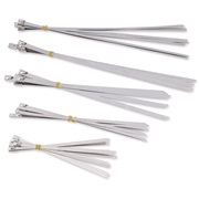 Kabelstrips stål 40 stk.