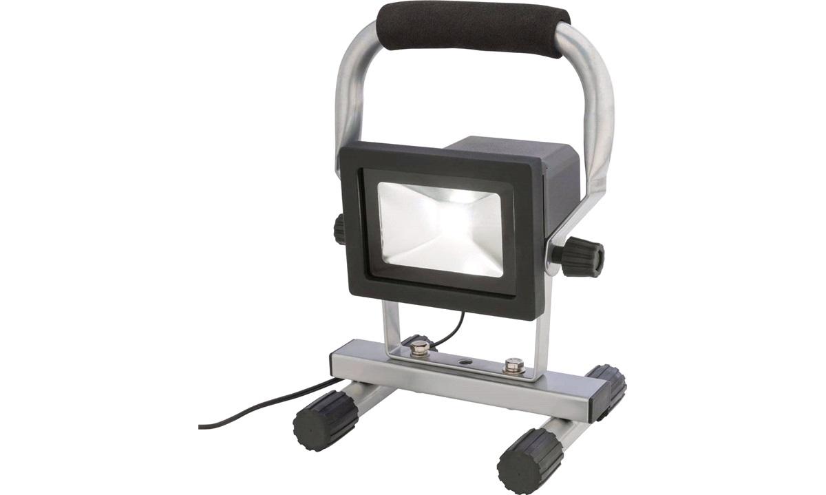 LED-arbejdslampe med fod genopladelig
