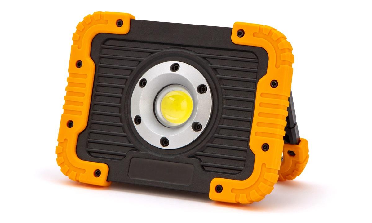 LED arbejdslampe 10W genopladelig