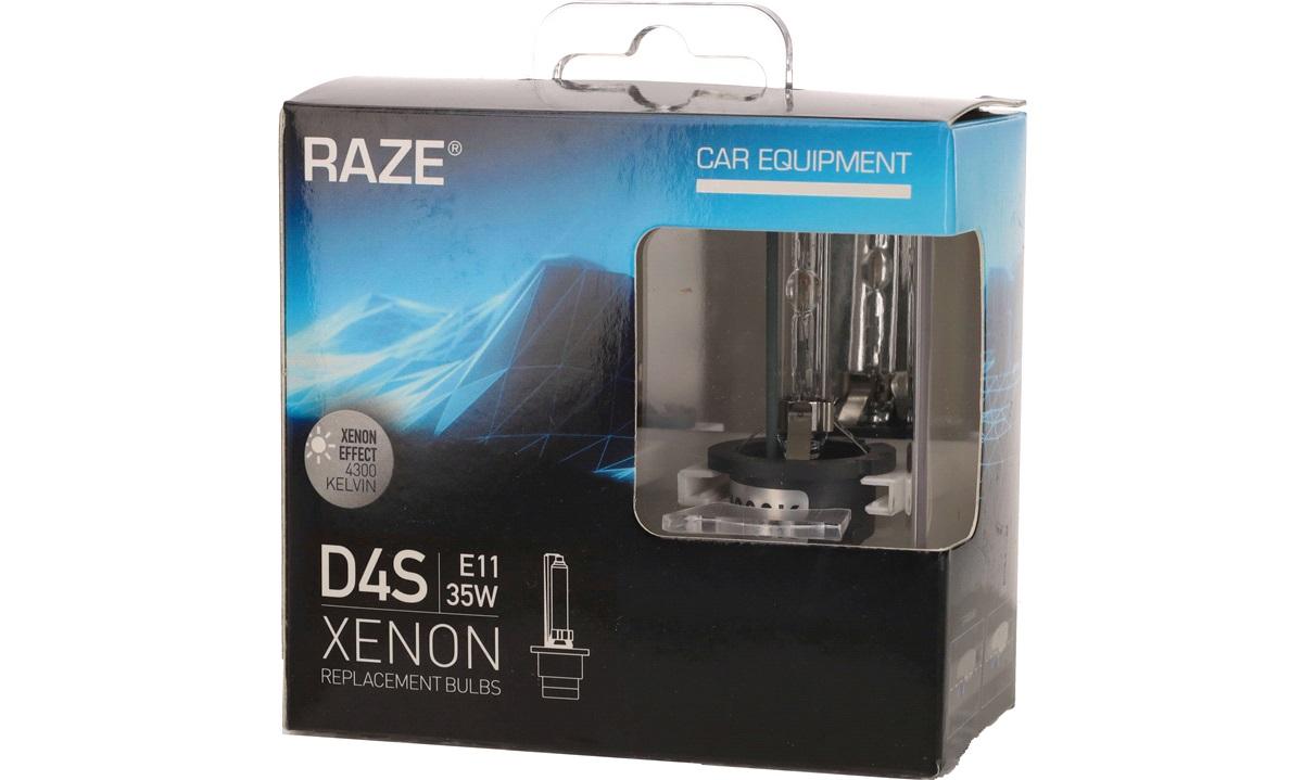 XENON pæresæt D4S 35W RAZE