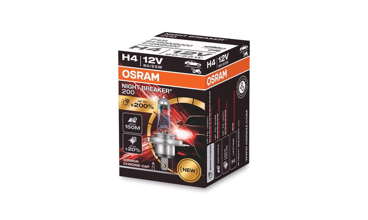 Pære H4 Night Breaker Laser +200