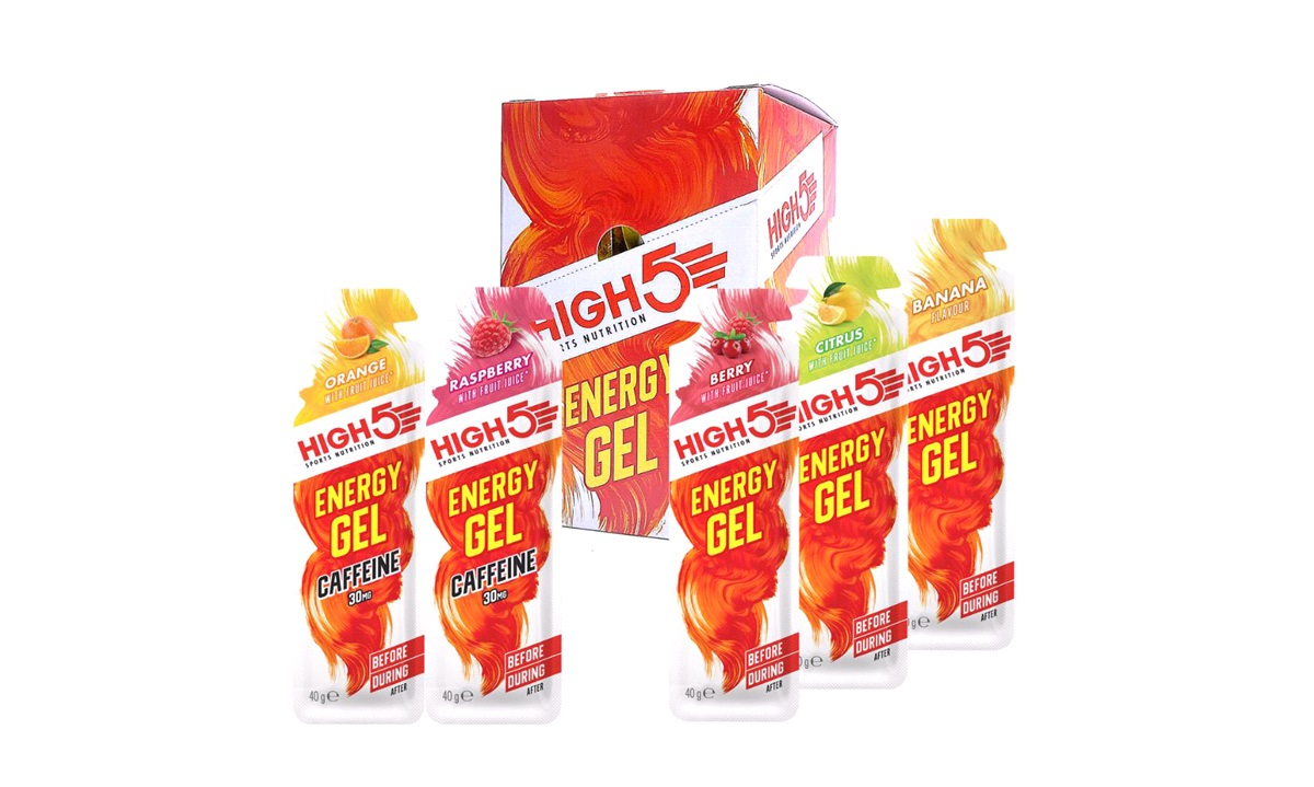 High5 Energy gel MIX BOX 20 stk. 40gr.