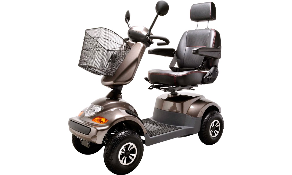 Elscooter Mokka PF2K 550W 36AH 4-hjul