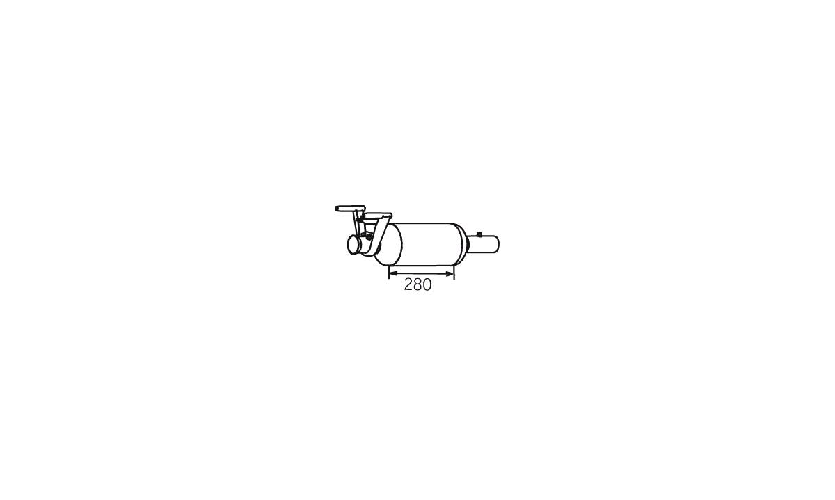 Partikelfilter - 56345 - (Dinex)