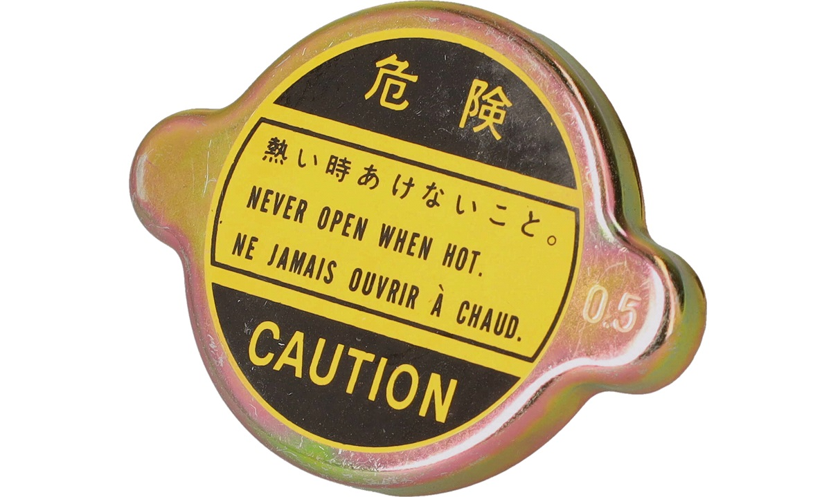 Kølerdæksel - KH-C10 - (Japanparts)