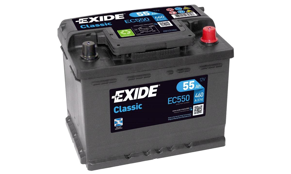 Batteri - EC550 - CLASSIC