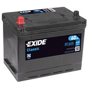 Batteri - EC605 - CLASSIC - (Exide)