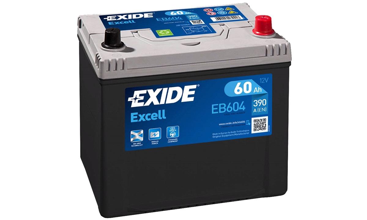 Startbatteri - _EB604 - EXCELL ** - (Exide)