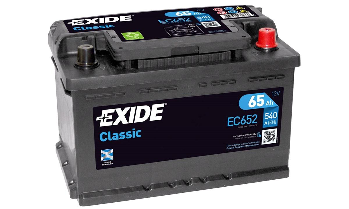 Batteri - EC652 - CLASSIC