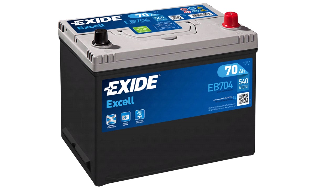 Batteri - EB704 - EXCELL