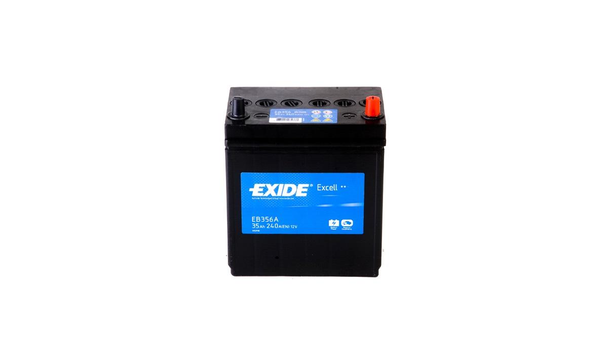 Startbatteri - _EB356 - EXCELL ** - (Exide)