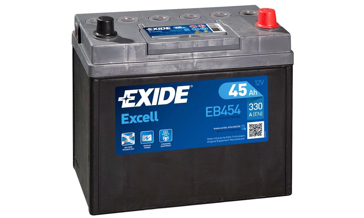 Startbatteri - _EB454 - EXCELL ** - (Exide)