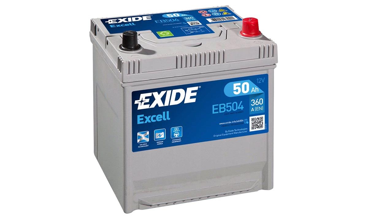 Batteri - EB504 - EXCELL - (Exide)