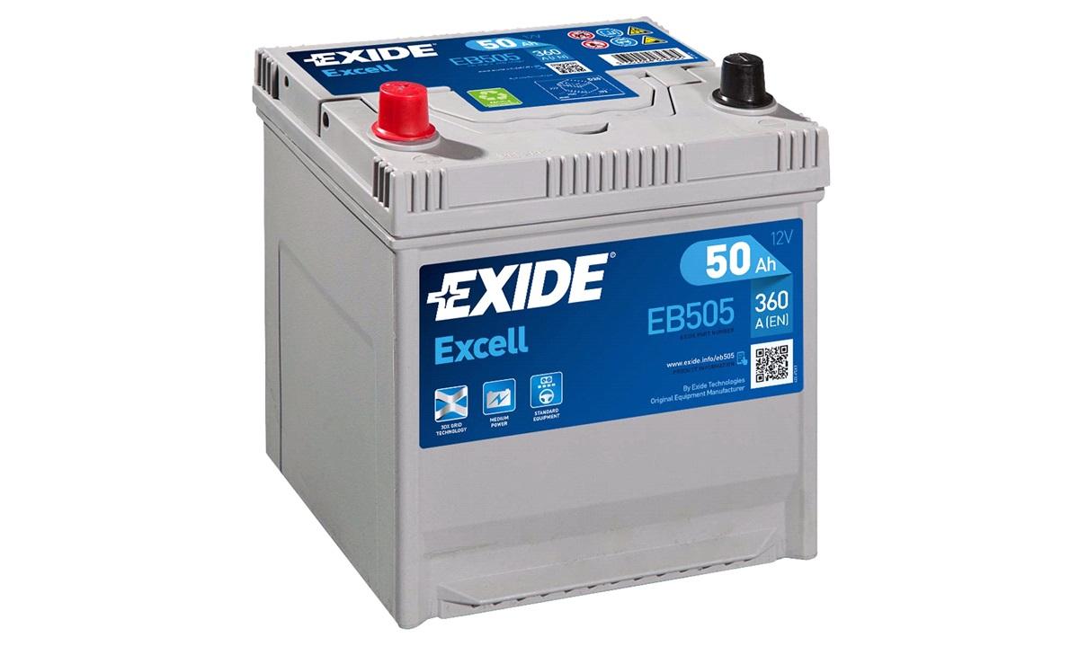 Startbatteri - _EB505 - EXCELL ** - (Exide)
