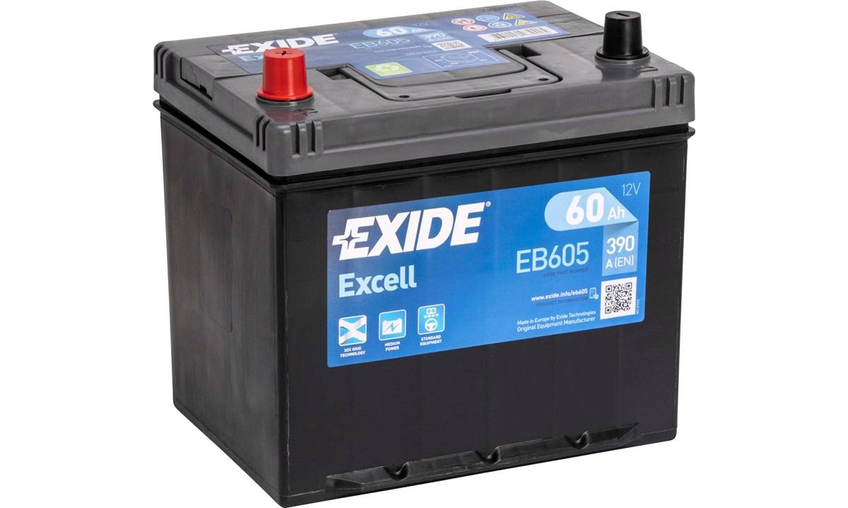 Startbatteri - _EB605 - EXCELL ** - (Exide)