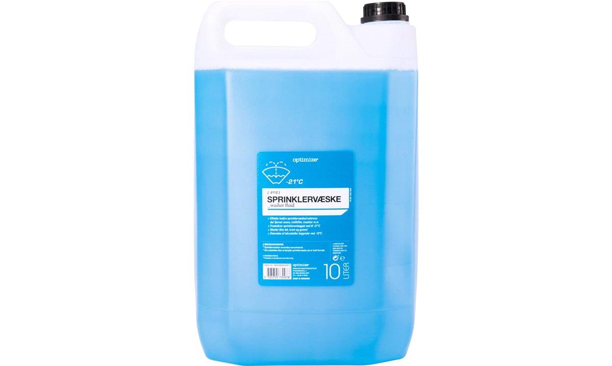 Spylervæske -21 grader 10 liter