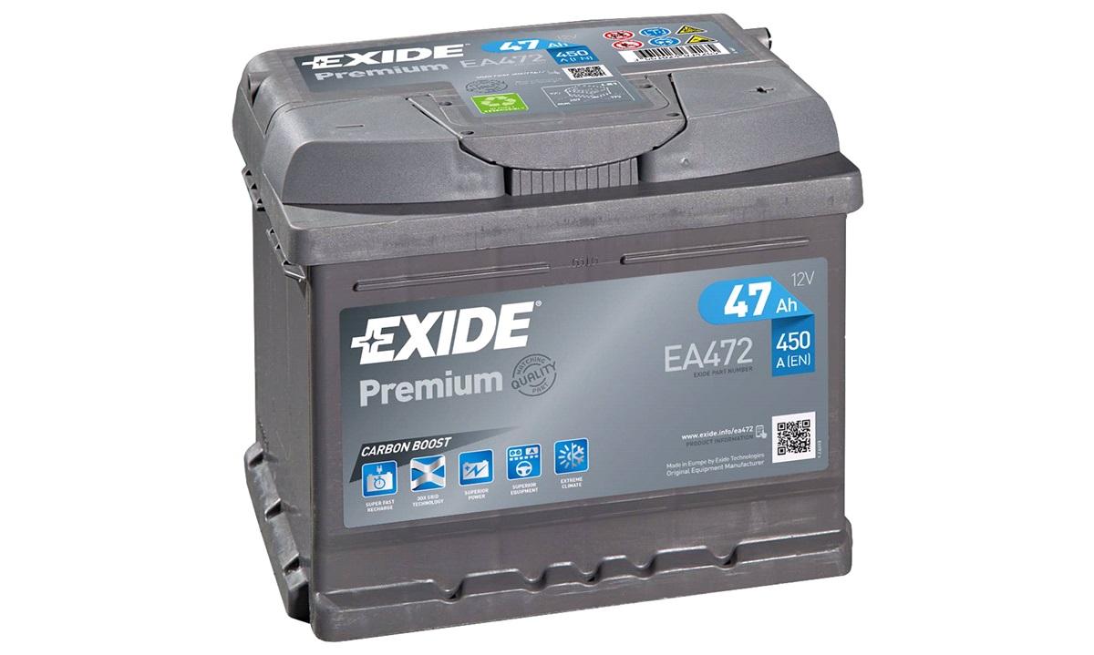 Startbatteri - _EA472 - PREMIUM * - (Exide)